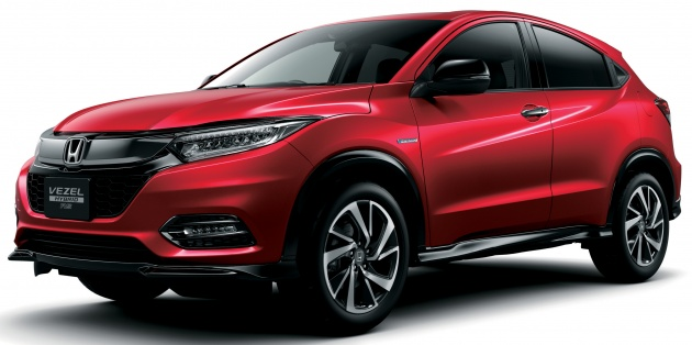 2018 honda hr v facelift new looks honda sensing as standard priced from rm76k to rm103k in. Black Bedroom Furniture Sets. Home Design Ideas