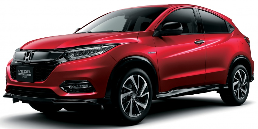 Honda HR-V facelift 2018 muncul di Jepun – Honda Sensing standard untuk semua varian, RM76k-RM103k Image #779950