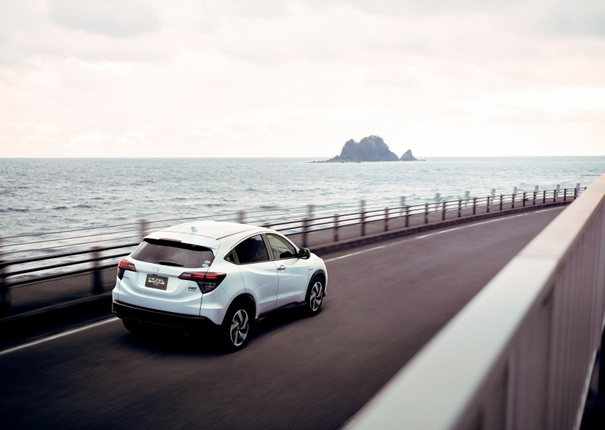 2018 Honda HR-V facelift – new looks, Honda Sensing as standard, priced from RM76k to RM103k in Japan Image #779756