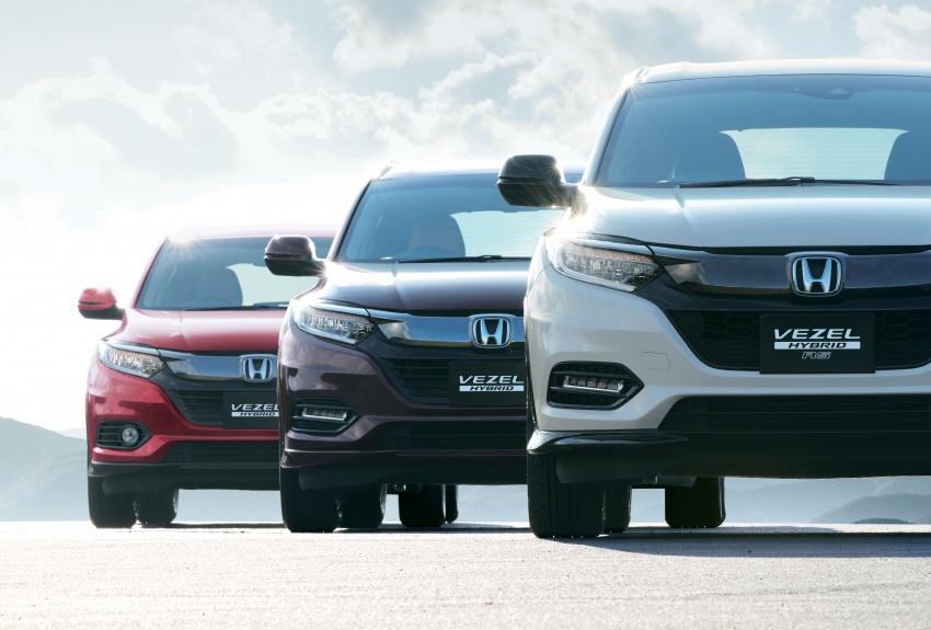 2018 Honda HR-V facelift – new looks, Honda Sensing as standard, priced from RM76k to RM103k in Japan Image #779755