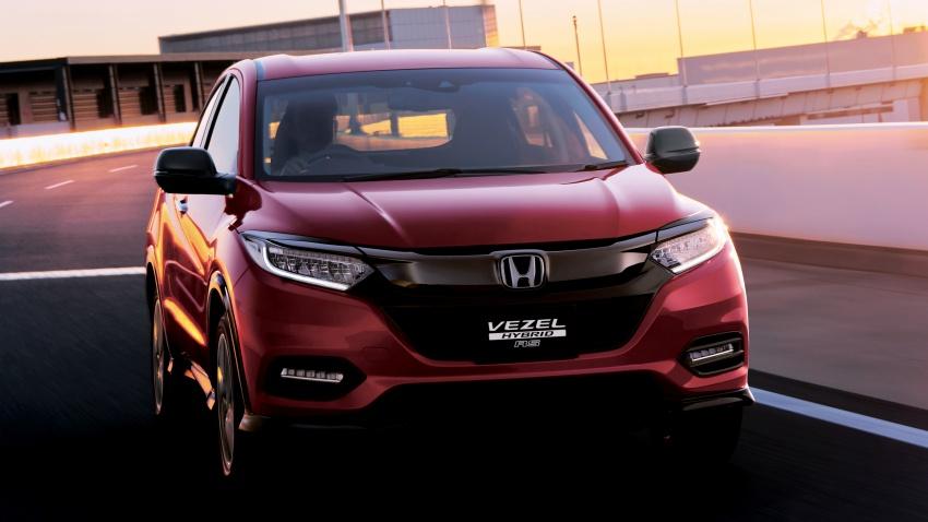 Honda HR-V facelift 2018 muncul di Jepun – Honda Sensing standard untuk semua varian, RM76k-RM103k Image #779923