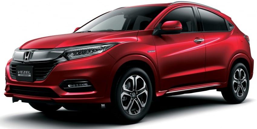 2018 Honda HR-V facelift – new looks, Honda Sensing as standard, priced from RM76k to RM103k in Japan Image #779740