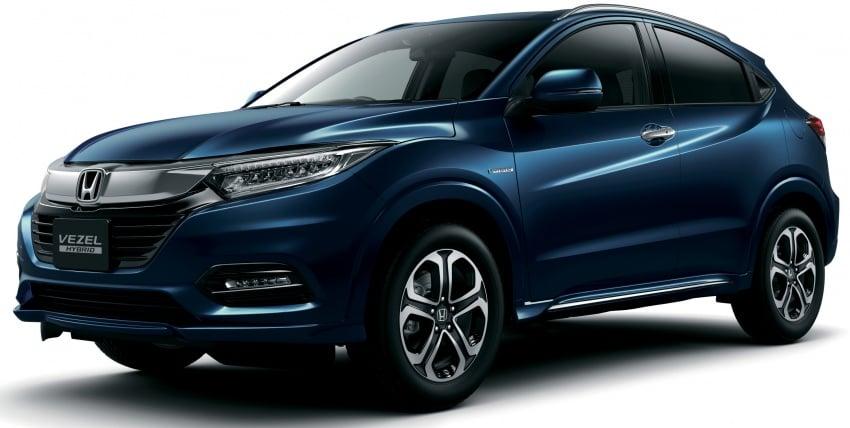 Honda HR-V facelift 2018 muncul di Jepun – Honda Sensing standard untuk semua varian, RM76k-RM103k Image #779934