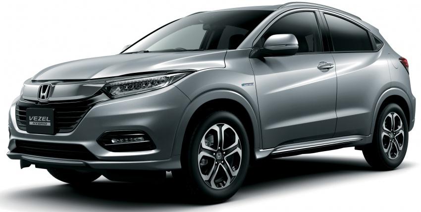 Honda HR-V facelift 2018 muncul di Jepun – Honda Sensing standard untuk semua varian, RM76k-RM103k Image #779936