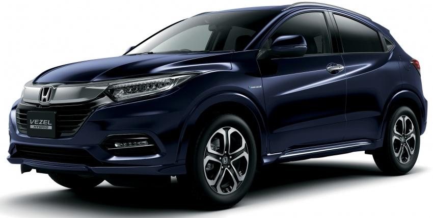 2018 Honda HR-V facelift – new looks, Honda Sensing as standard, priced from RM76k to RM103k in Japan Image #779746
