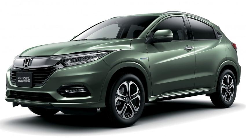 2018 Honda HR-V facelift – new looks, Honda Sensing as standard, priced from RM76k to RM103k in Japan Image #779747