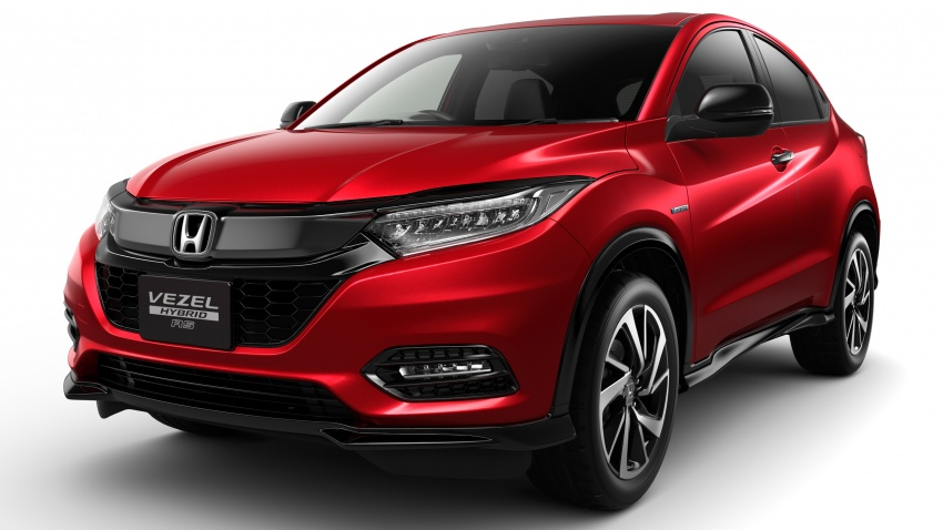 Honda HR-V facelift 2018 muncul di Jepun – Honda Sensing standard untuk semua varian, RM76k-RM103k Image #779948