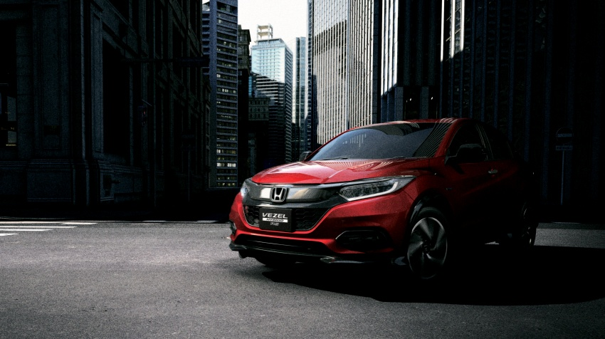 2018 Honda HR-V facelift – new looks, Honda Sensing as standard, priced from RM76k to RM103k in Japan Image #779752