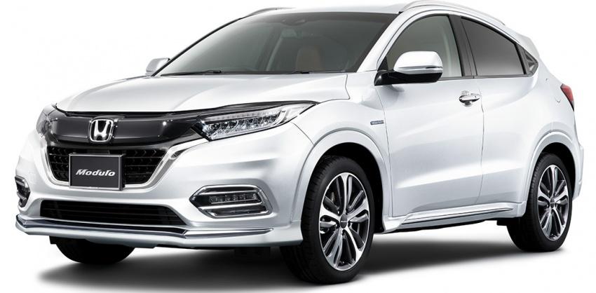 2018 Honda HR-V facelift gets Mugen and Modulo kits Image #780167