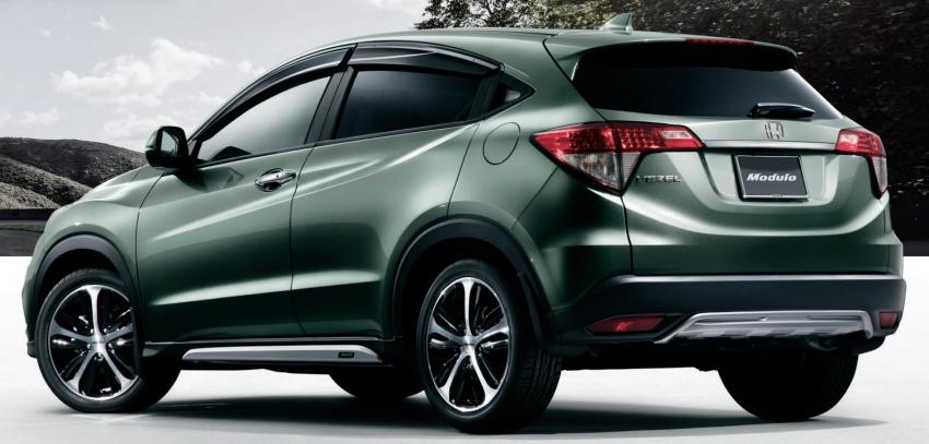 2018 Honda HR-V facelift gets Mugen and Modulo kits Image #780183