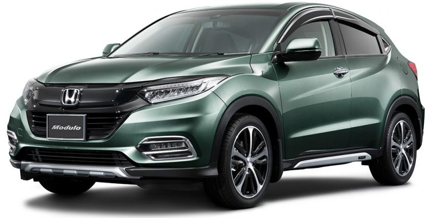 2018 Honda HR-V facelift gets Mugen and Modulo kits Image #780176
