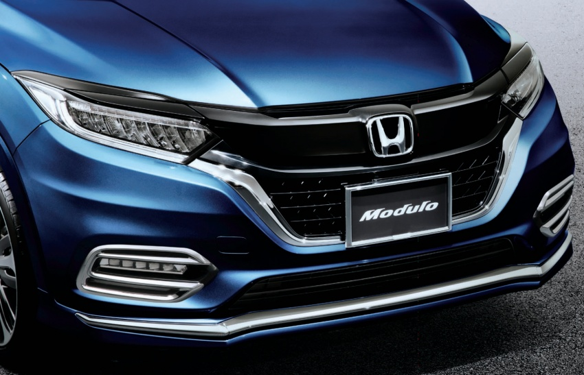 2018 Honda HR-V facelift gets Mugen and Modulo kits Image #780178