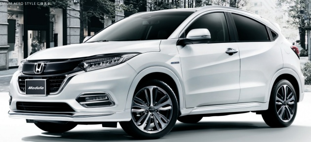 Honda Hr V Modulo >> 2018 Honda Hr V Facelift Gets Mugen And Modulo Kits