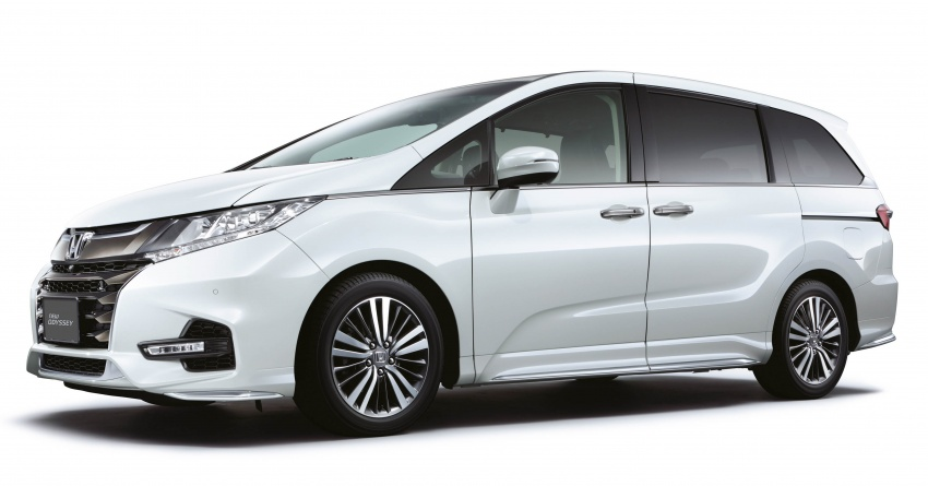 2018 Honda Odyssey facelift launched in Malaysia – now with Honda Sensing; priced at RM254,800 Image #775963