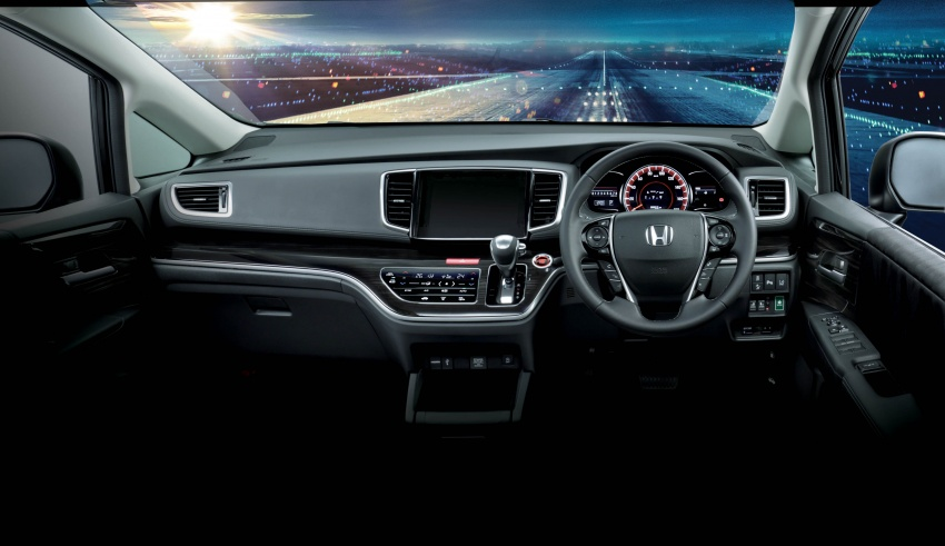 2018 Honda Odyssey facelift launched in Malaysia – now with Honda Sensing; priced at RM254,800 Image #775965