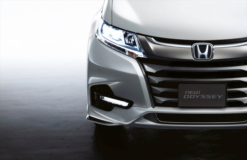 2018 Honda Odyssey facelift launched in Malaysia – now with Honda Sensing; priced at RM254,800 Image #775971