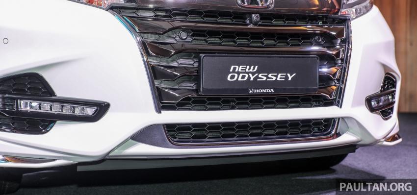 Honda Odyssey facelift kini tiba ke pasaran Malaysia – CBU, hanya satu varian, Honda Sensing, RM254,800 Image #776065