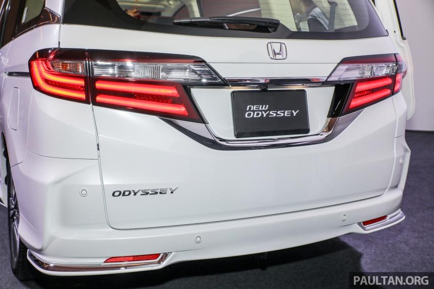Honda Odyssey facelift kini tiba ke pasaran Malaysia – CBU, hanya satu varian, Honda Sensing, RM254,800 Image #776081