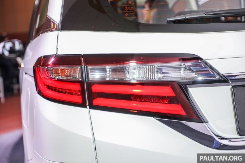 Honda Odyssey facelift kini tiba ke pasaran Malaysia – CBU, hanya satu varian, Honda Sensing, RM254,800 Image #776083