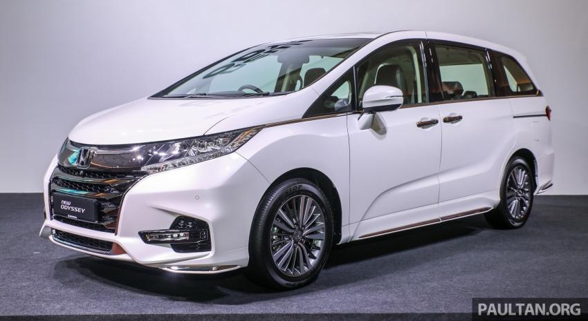 Honda Odyssey facelift kini tiba ke pasaran Malaysia – CBU, hanya satu varian, Honda Sensing, RM254,800 Image #776049