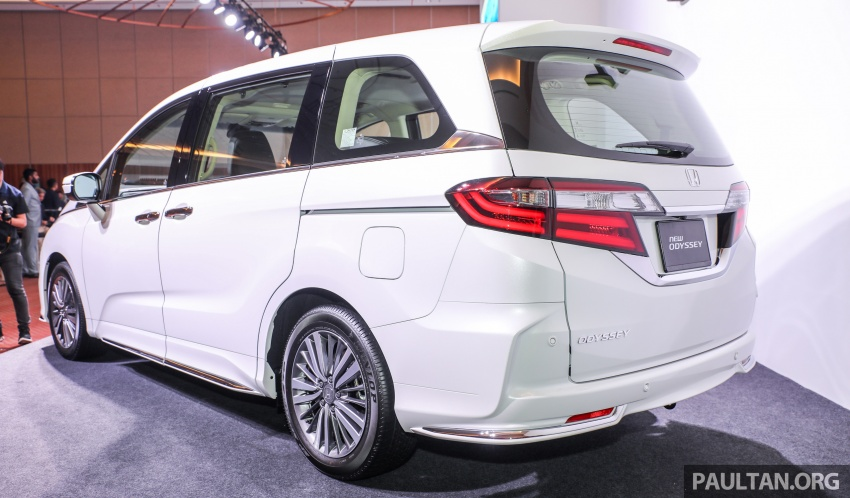 2018 Honda Odyssey facelift launched in Malaysia – now with Honda Sensing; priced at RM254,800 Image #776053