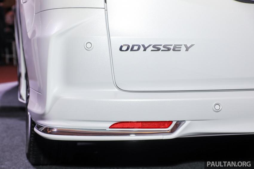 Honda Odyssey facelift kini tiba ke pasaran Malaysia – CBU, hanya satu varian, Honda Sensing, RM254,800 Image #776086