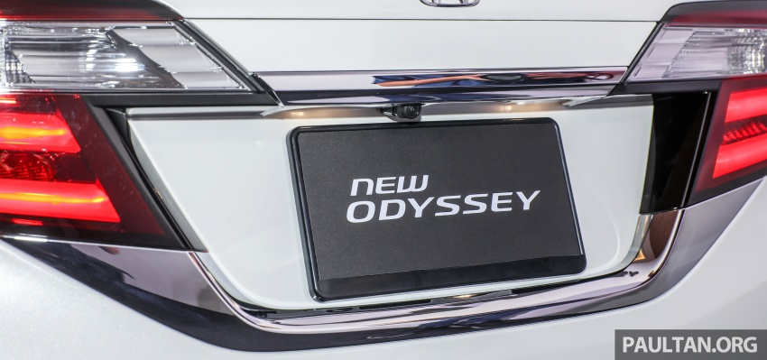 2018 Honda Odyssey facelift launched in Malaysia – now with Honda Sensing; priced at RM254,800 Image #776092