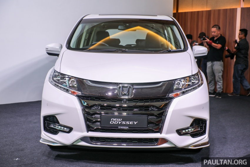 2018 Honda Odyssey facelift launched in Malaysia – now with Honda Sensing; priced at RM254,800 Image #776058