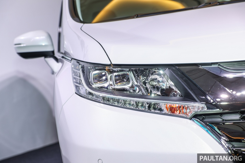 2018 Honda Odyssey facelift launched in Malaysia – now with Honda Sensing; priced at RM254,800 Image #776064