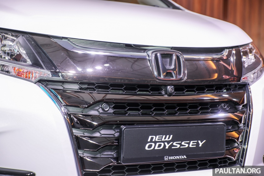 2018 Honda Odyssey facelift launched in Malaysia – now with Honda Sensing; priced at RM254,800 Image #776069