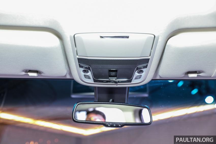 Honda Odyssey facelift kini tiba ke pasaran Malaysia – CBU, hanya satu varian, Honda Sensing, RM254,800 Image #776134