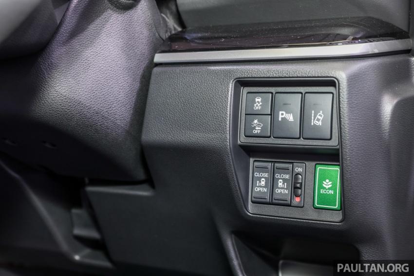 Honda Odyssey facelift kini tiba ke pasaran Malaysia – CBU, hanya satu varian, Honda Sensing, RM254,800 Image #776136