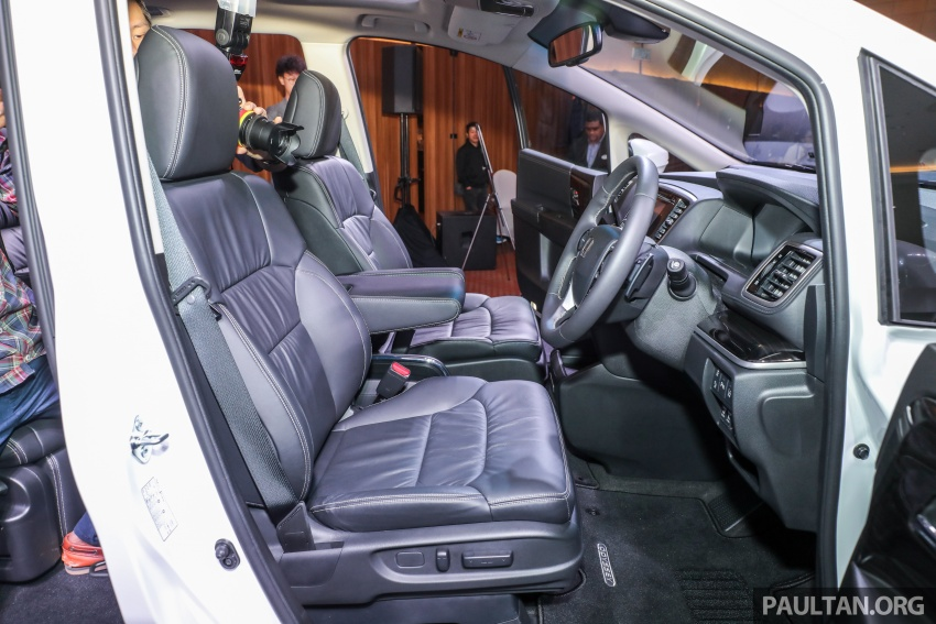 2018 Honda Odyssey facelift launched in Malaysia – now with Honda Sensing; priced at RM254,800 Image #776137
