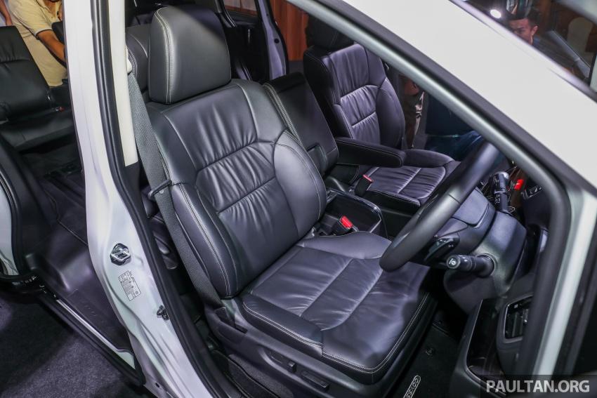 Honda Odyssey facelift kini tiba ke pasaran Malaysia – CBU, hanya satu varian, Honda Sensing, RM254,800 Image #776140