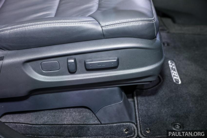 Honda Odyssey facelift kini tiba ke pasaran Malaysia – CBU, hanya satu varian, Honda Sensing, RM254,800 Image #776144