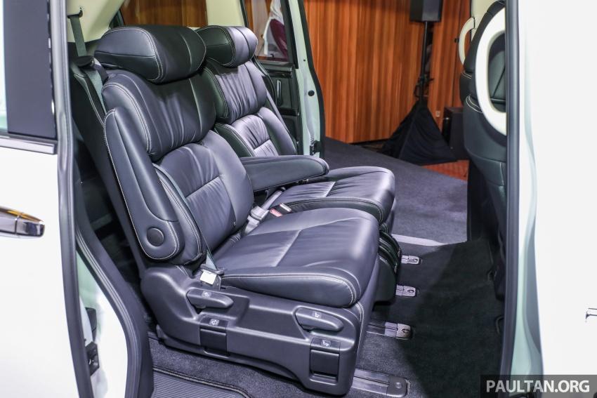 Honda Odyssey facelift kini tiba ke pasaran Malaysia – CBU, hanya satu varian, Honda Sensing, RM254,800 Image #776151