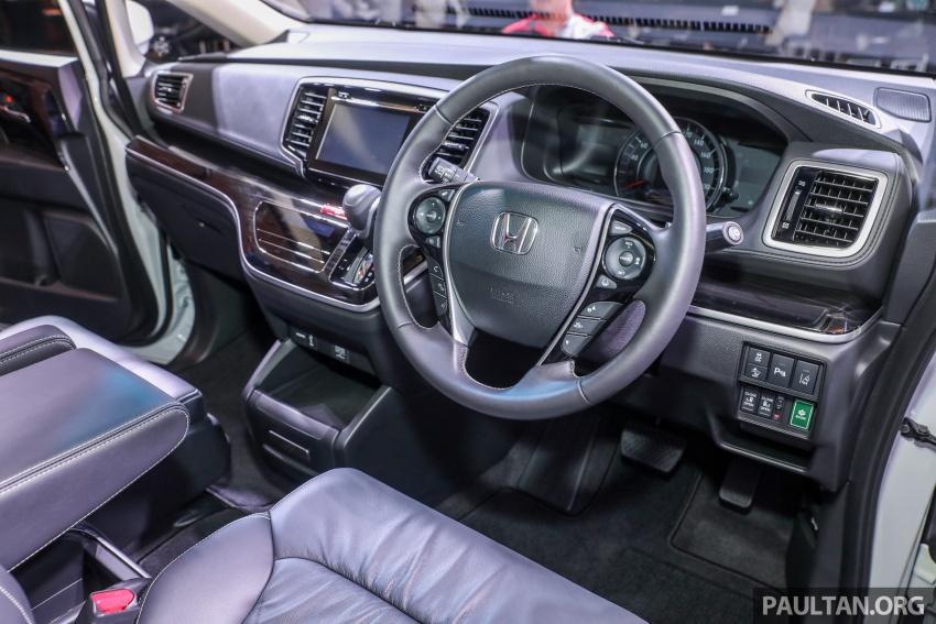 Honda Odyssey facelift kini tiba ke pasaran Malaysia – CBU, hanya satu varian, Honda Sensing, RM254,800 Image #776103