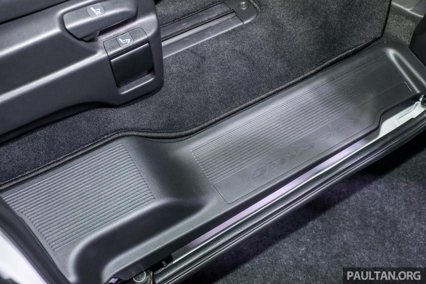 Honda Odyssey facelift kini tiba ke pasaran Malaysia – CBU, hanya satu varian, Honda Sensing, RM254,800 Image #776166