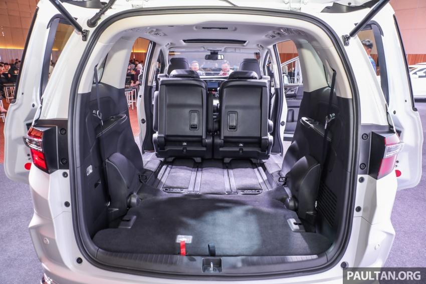 Honda Odyssey facelift kini tiba ke pasaran Malaysia – CBU, hanya satu varian, Honda Sensing, RM254,800 Image #776175