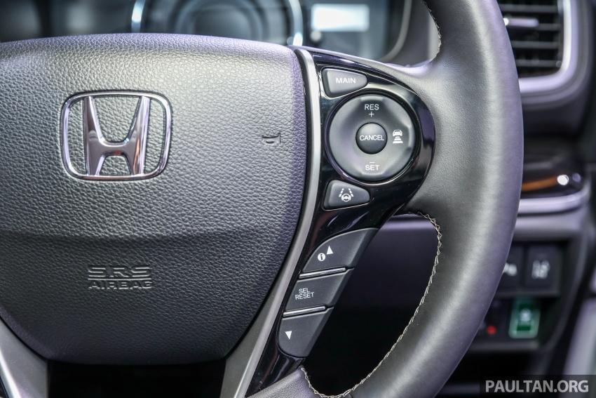 Honda Odyssey facelift kini tiba ke pasaran Malaysia – CBU, hanya satu varian, Honda Sensing, RM254,800 Image #776110