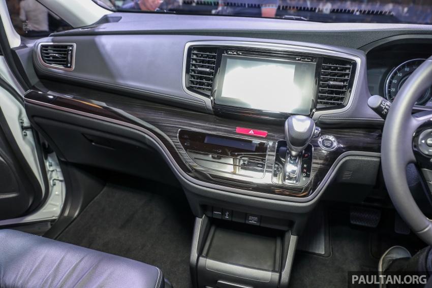 Honda Odyssey facelift kini tiba ke pasaran Malaysia – CBU, hanya satu varian, Honda Sensing, RM254,800 Image #776116