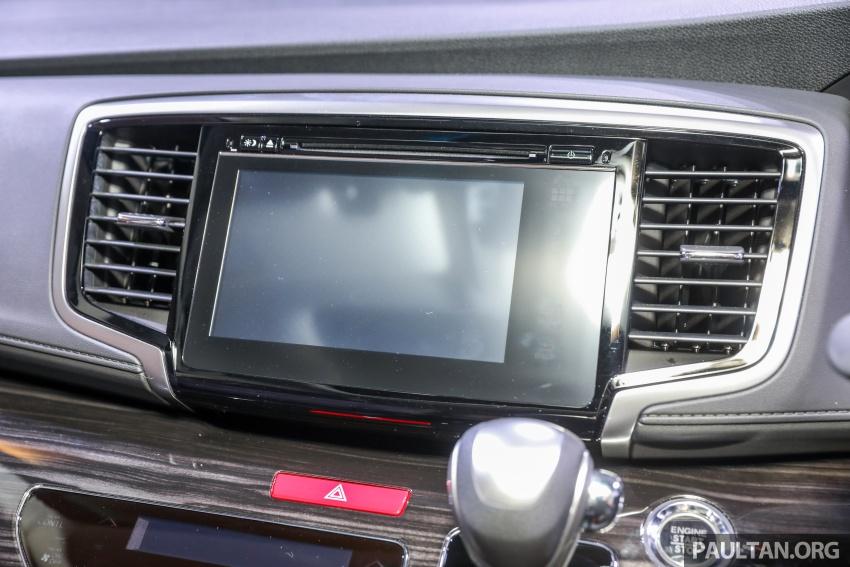 Honda Odyssey facelift kini tiba ke pasaran Malaysia – CBU, hanya satu varian, Honda Sensing, RM254,800 Image #776118