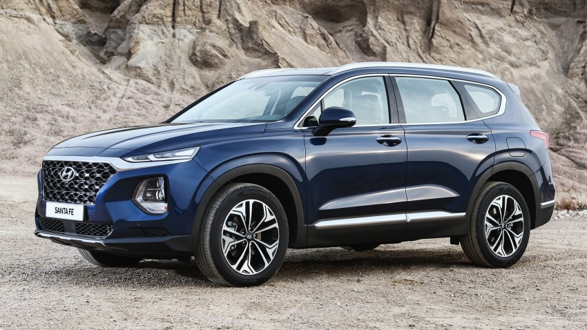 2019 Hyundai Santa Fe – 4th-gen SUV debuts in Korea with 2.0 turbo petrol, 2.2 turbodiesel and 8-speed auto Image #781771