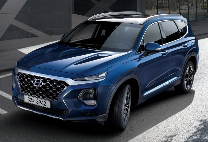 2019 Hyundai Santa Fe – 4th-gen SUV debuts in Korea with 2.0 turbo petrol, 2.2 turbodiesel and 8-speed auto Image #781782