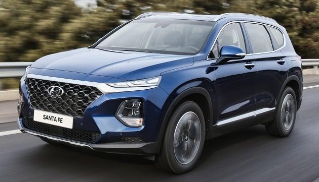 New Hyundai Santa Fe Sonata Planned For Malaysia Current Gen