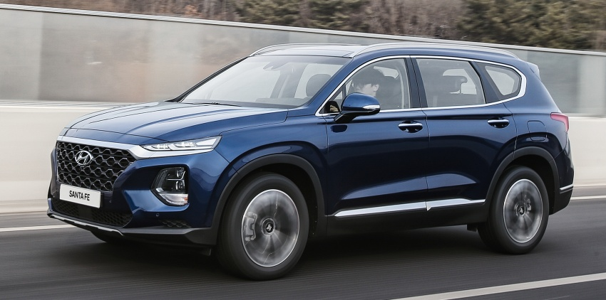 2019 Hyundai Santa Fe – 4th-gen SUV debuts in Korea with 2.0 turbo petrol, 2.2 turbodiesel and 8-speed auto Image #781785