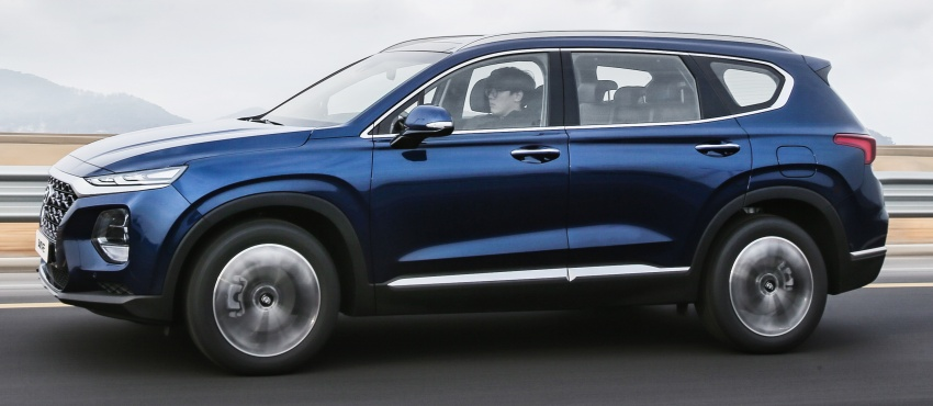2019 Hyundai Santa Fe – 4th-gen SUV debuts in Korea with 2.0 turbo petrol, 2.2 turbodiesel and 8-speed auto Image #781786