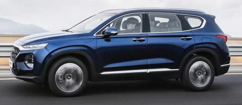 2019 Hyundai Santa Fe – 4th-gen SUV debuts in Korea with 2.0 turbo petrol, 2.2 turbodiesel and 8-speed auto Image #781786