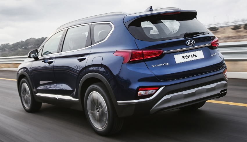 2019 Hyundai Santa Fe – 4th-gen SUV debuts in Korea with 2.0 turbo petrol, 2.2 turbodiesel and 8-speed auto Image #781787