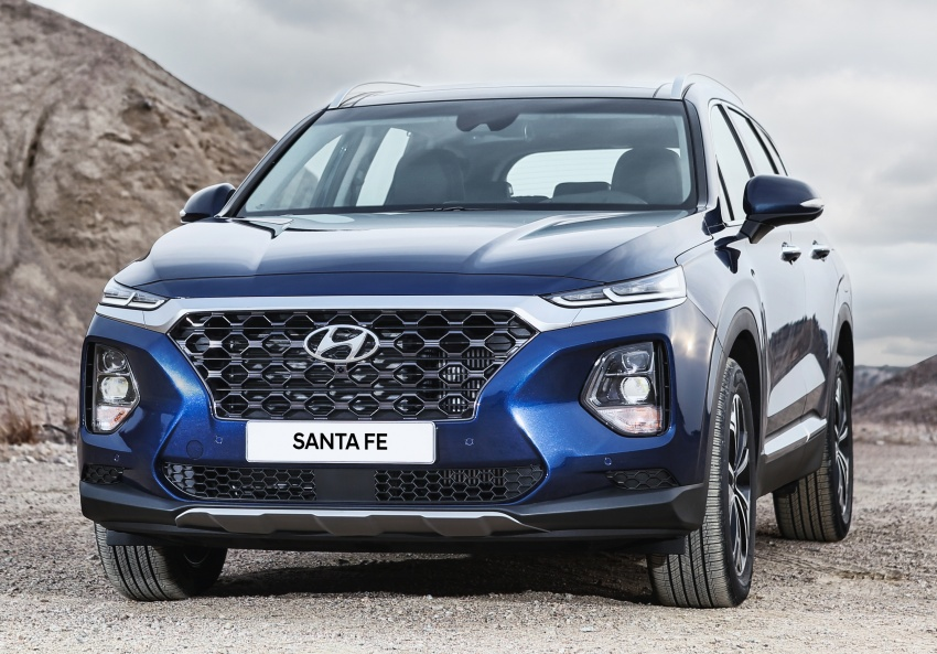 2019 Hyundai Santa Fe – 4th-gen SUV debuts in Korea with 2.0 turbo petrol, 2.2 turbodiesel and 8-speed auto Image #781772